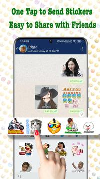 TextSticker - sticker for WhatsApp - WAStickerApps poster