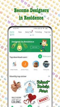 TextSticker - sticker for WhatsApp - WAStickerApps screenshot 1