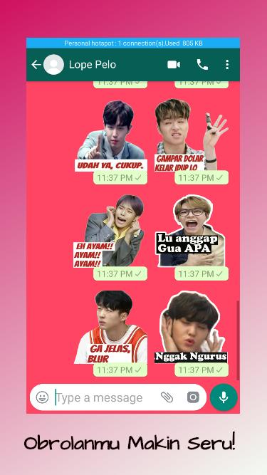 Kpop Meme Sticker Indonesia For Android Apk Download