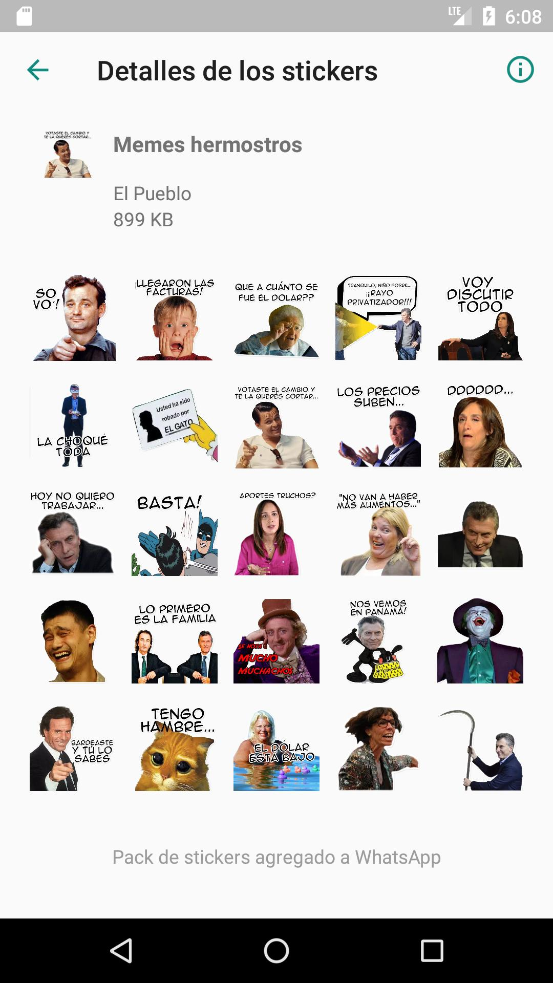Stickers Argentinos Para Whatsapp Y Memes For Android Apk Download