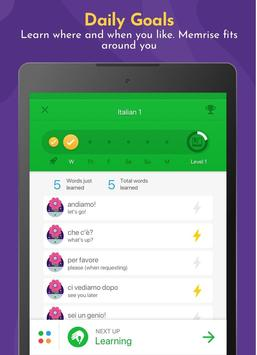Learn Languages with Memrise screenshot 8