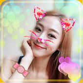Cat Face Camera Editor icon