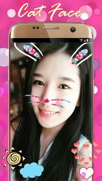 Cat Face Camera Editor screenshot 2