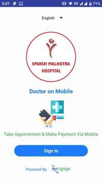 Sparsh Malhotra Hospital poster