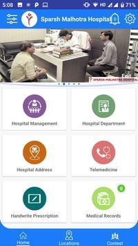 Sparsh Malhotra Hospital screenshot 1