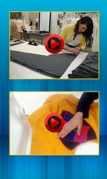 Dress Cutting poster