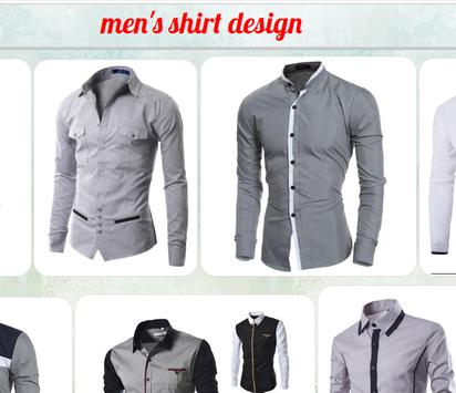 men's shirt design screenshot 3