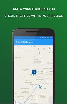 WiFi gratuit Connect capture d'écran 3