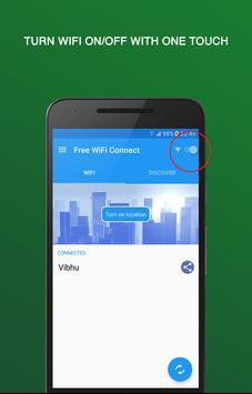 WiFi gratuit Connect Affiche