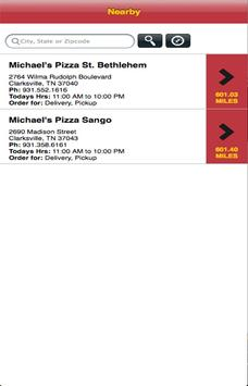 Michael's Pizza & More screenshot 1