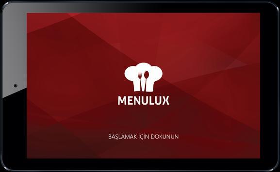 Menulux POS poster