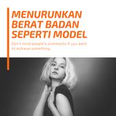 Menurunkan Berat Badan seperti Model icon