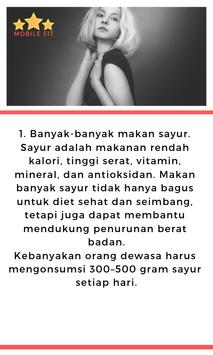 Menurunkan Berat Badan seperti Model screenshot 2