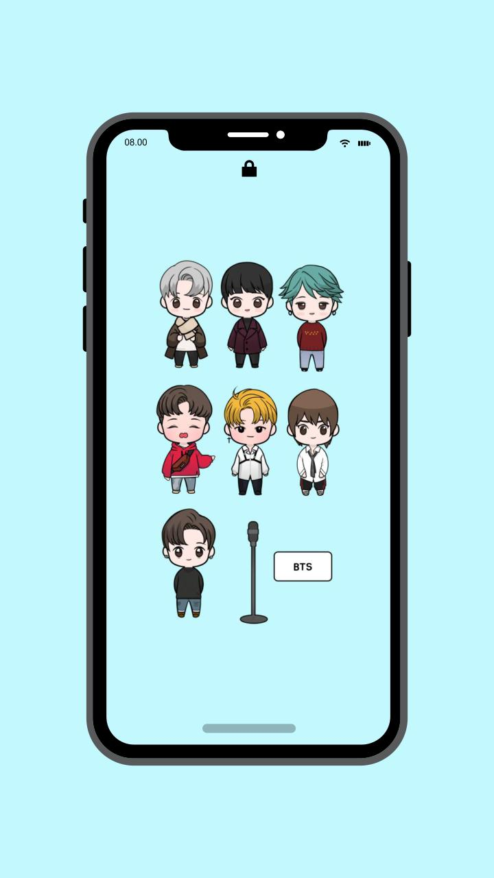 Wallpaper Lucu BTS For Android APK Download