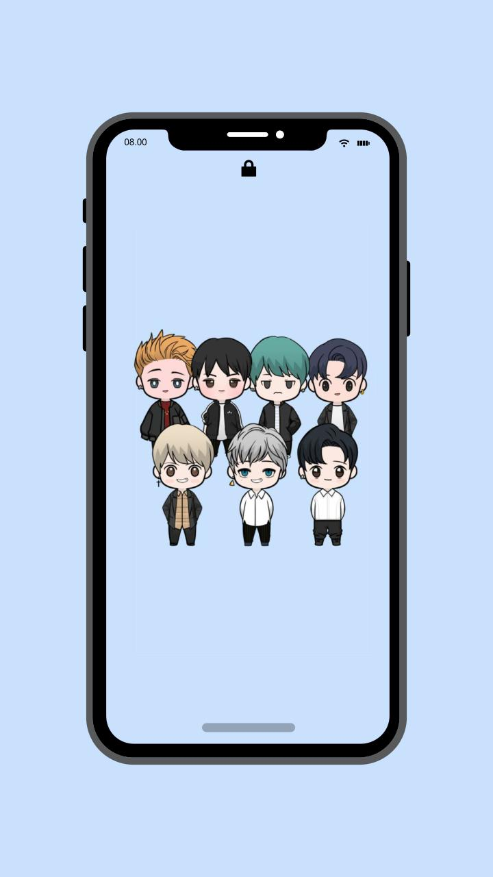 Kpop Bts Cute Wallpapers For Android Apk Download