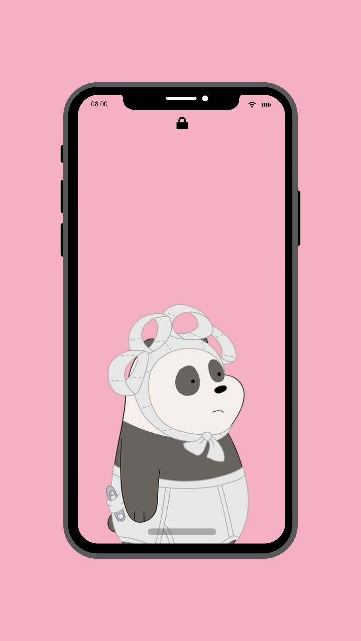Wallpaper Panda Lucu Cute For Android APK Download
