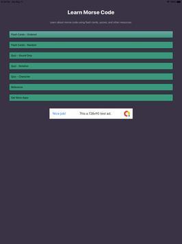 Morse Code Flashcards+Quizzes screenshot 3