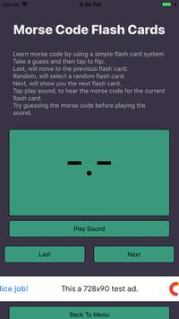 Morse Code Flashcards+Quizzes poster