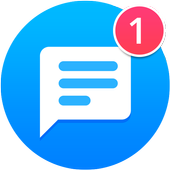 Icona Messages Light - Messaggi chiari