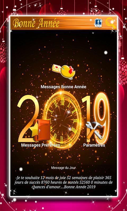 Message Bonne Année 2019 For Android Apk Download