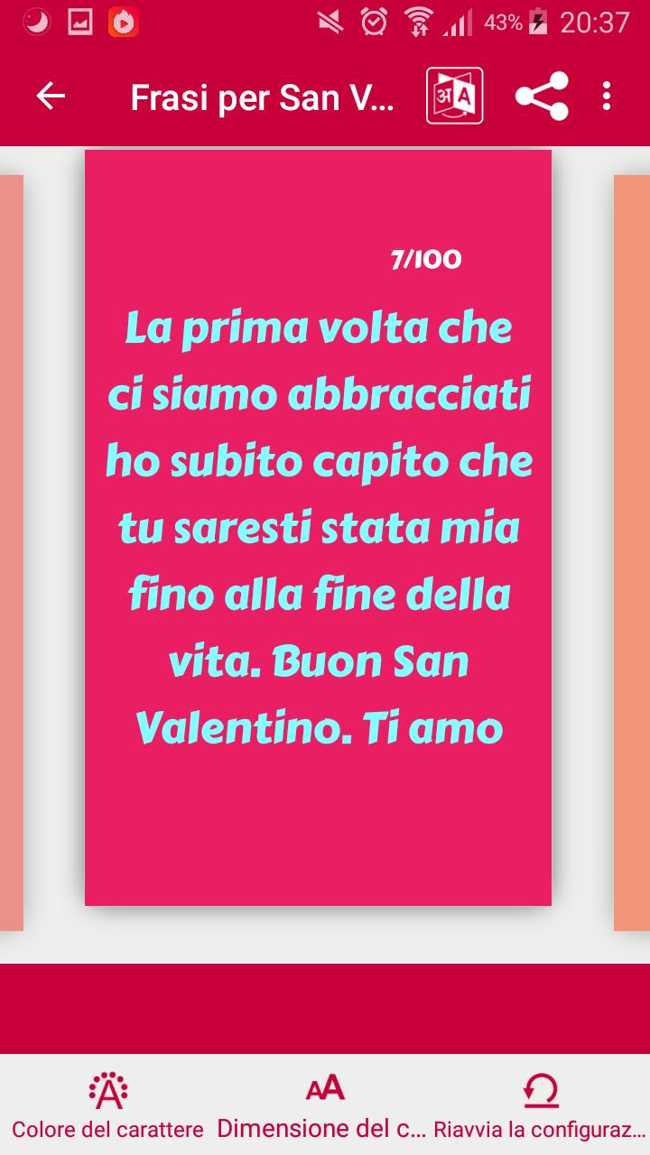 Frasi Per San Valentino For Android Apk Download