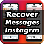 Recover Messages inst - chatting , audios icon