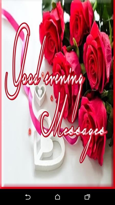 Good Evening Messages For Android Apk Download