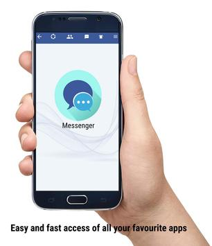X- Messenger : Free video call, social messenger poster