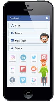 X- Messenger : Free video call, social messenger screenshot 2