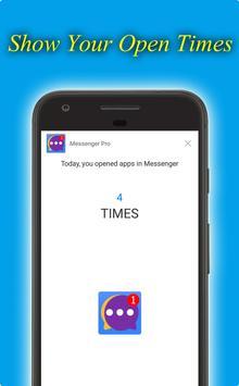 Messenger Pro screenshot 1