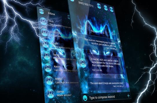 gb wa terbaru versi 2021 sms theme screenshot 1