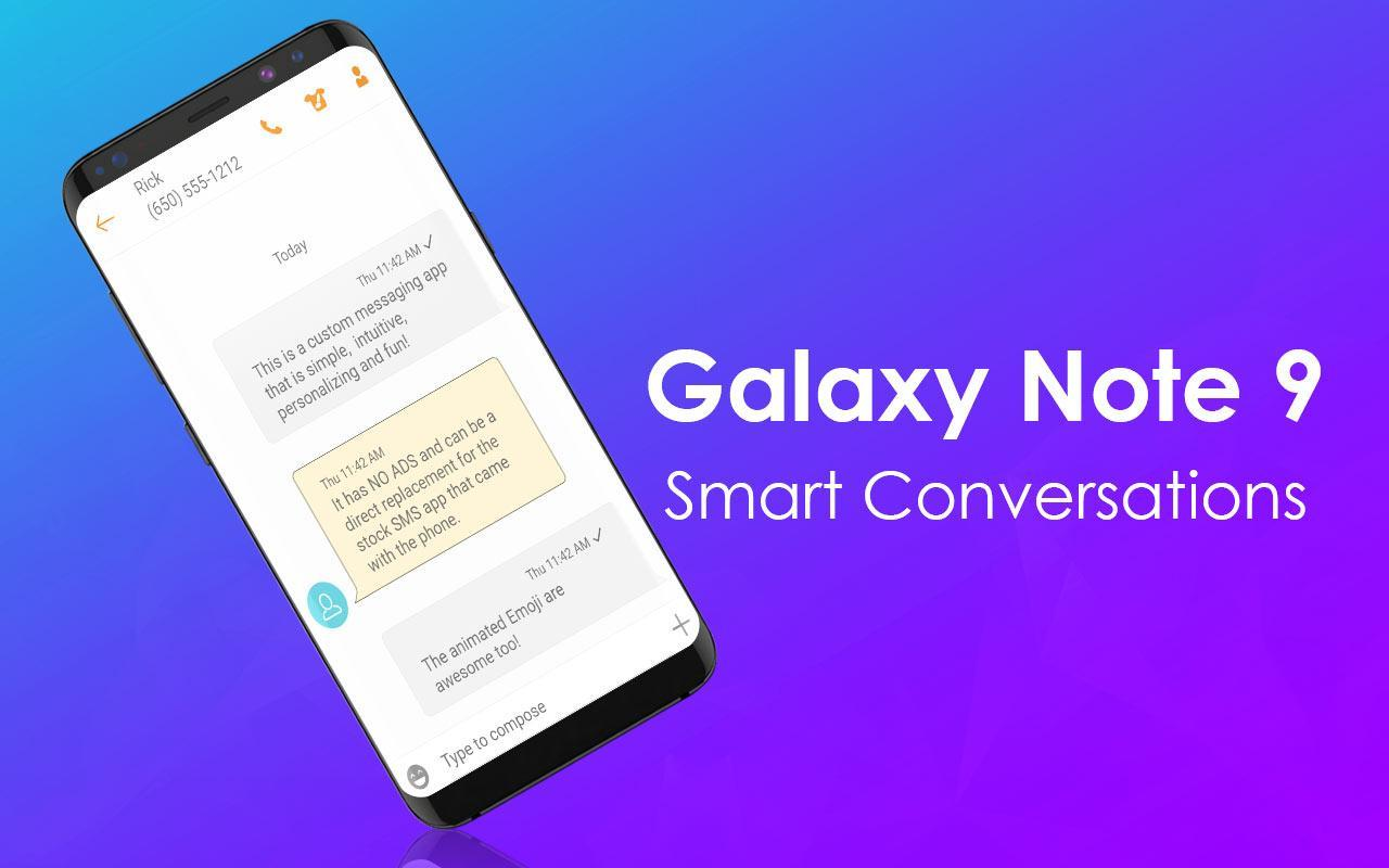 Galaxy Note 10 SMS for Android - APK Download