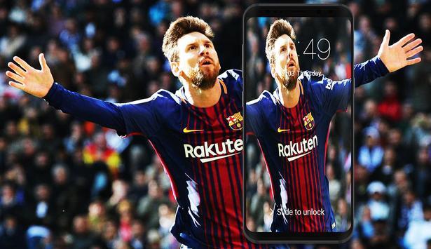 Lionel Messi Lockscreen screenshot 3
