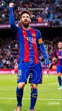 Lionel Messi Lockscreen screenshot 7