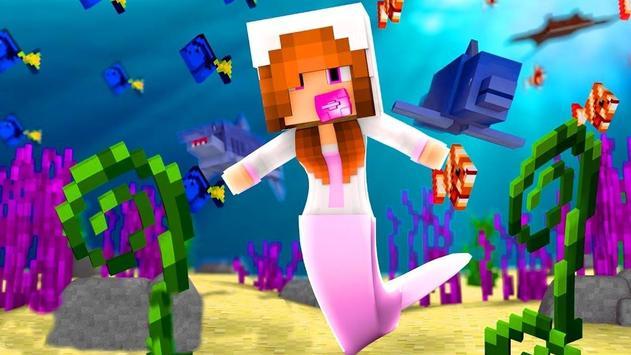 Mermaid Skins for MCPE (Minecraft PE) screenshot 1