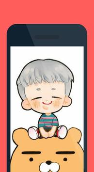 BTS Wallpaper-Chibi Mode screenshot 1