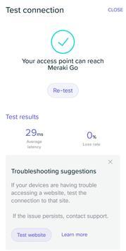 Meraki Go screenshot 6