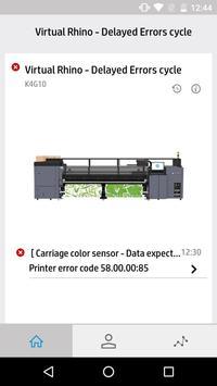 HP PrintOS Service Center screenshot 3