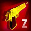 Waffe zusammenführen und Zombie schießen Zeichen