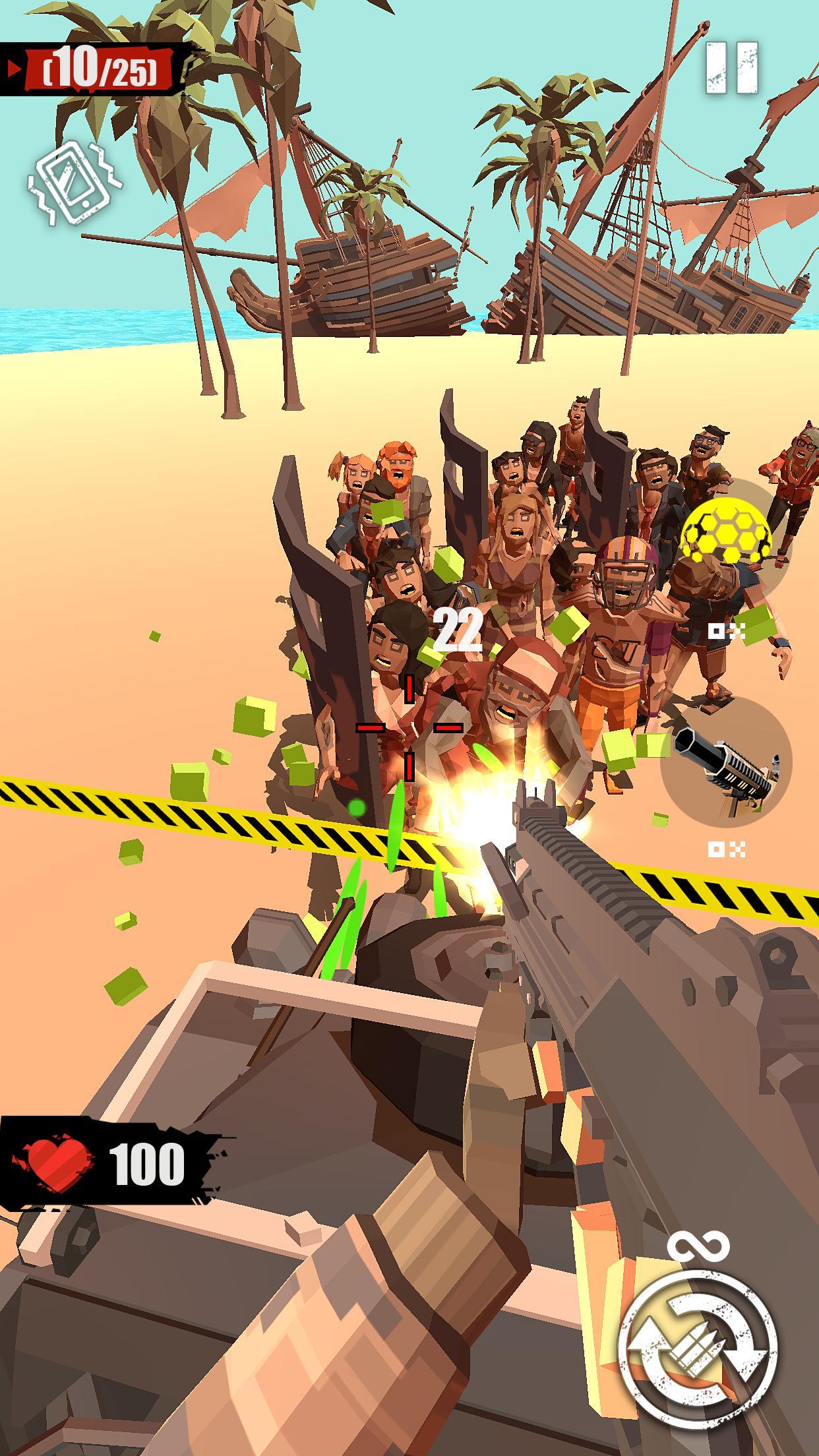 Zombie Abschießen