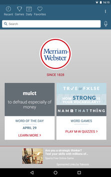 Dictionary - Merriam-Webster screenshot 9
