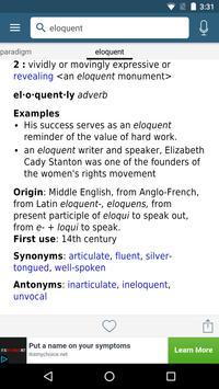Dictionary - Merriam-Webster screenshot 2