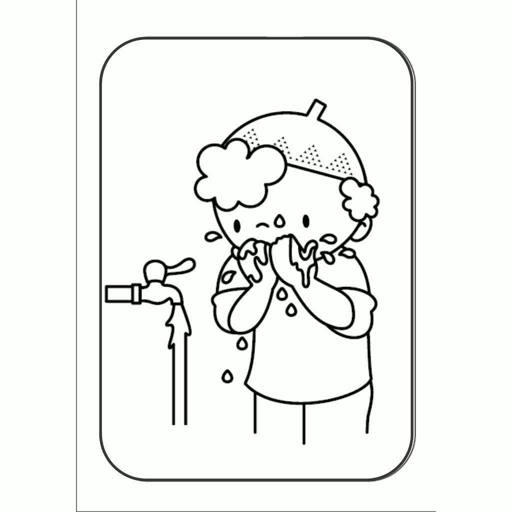 7600 Mewarnai Gambar Kartun Anak Muslimah Gratis Terbaru
