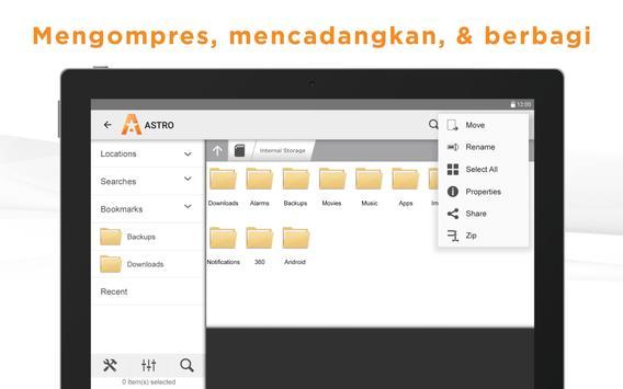 Manajer File ASTRO (File Manager) screenshot 6
