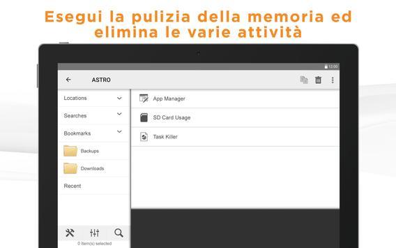7 Schermata Gestione file ASTRO