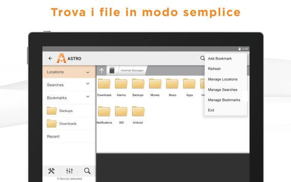 5 Schermata Gestione file ASTRO