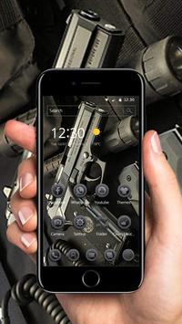 Metal Pistol War Theme screenshot 4
