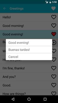 Learn Spanish Free screenshot 2