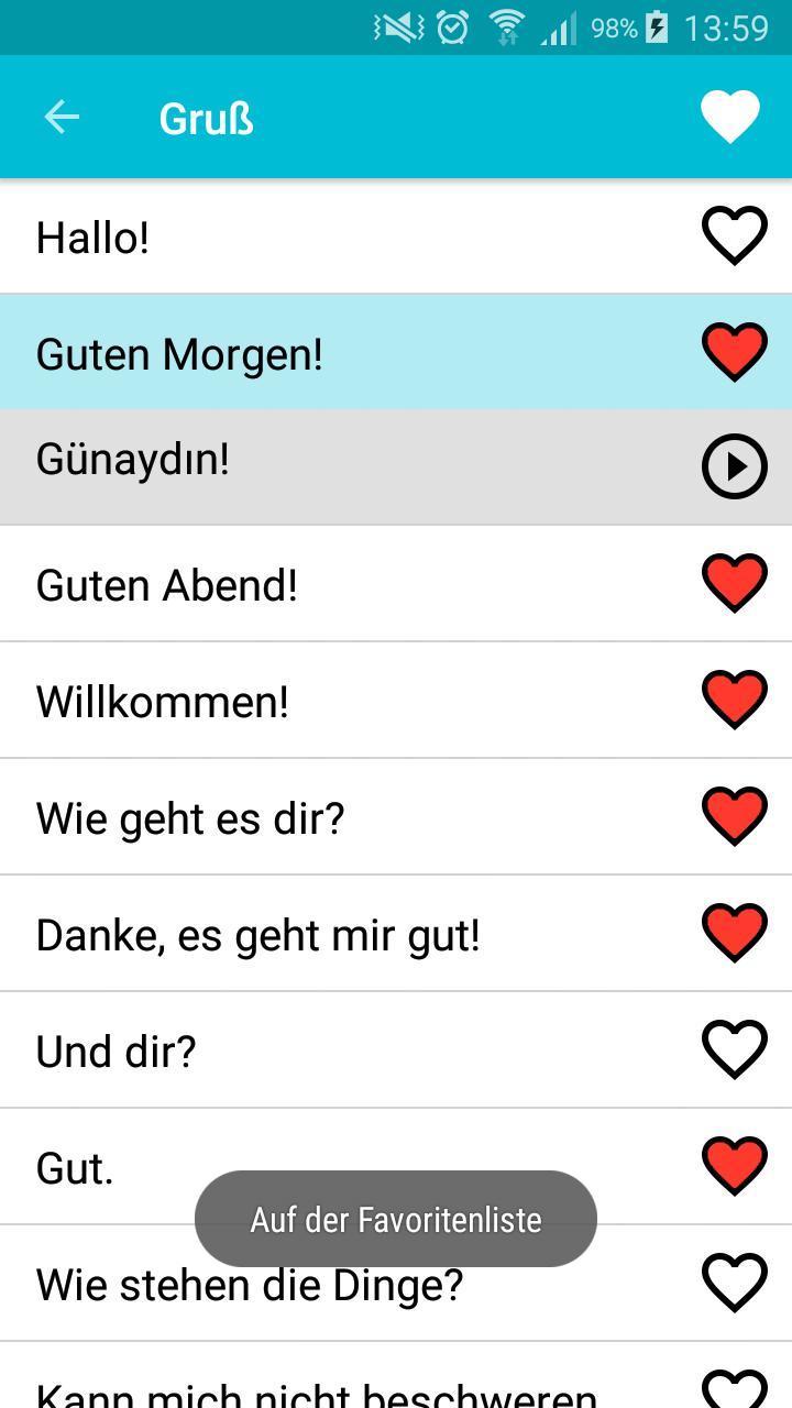 Lernen Türkisch Für Android Apk Herunterladen