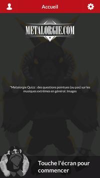 Quiz : Metal / Punk / ... par Metalorgie poster